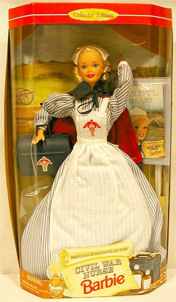 3017: Civil War Nurse Barbie American Stories Collectio