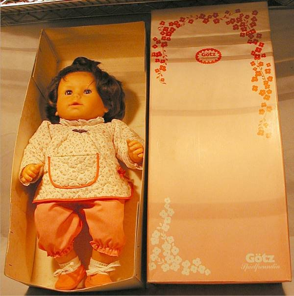 "3020: Gotz 26"" Girl Doll with Box"