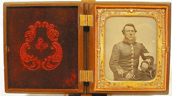 4011: Tin Type, British Sergeant Crimean War Period