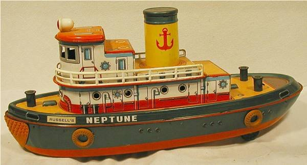 5005: Battery Operated Modern Toys Neptune, Excellent