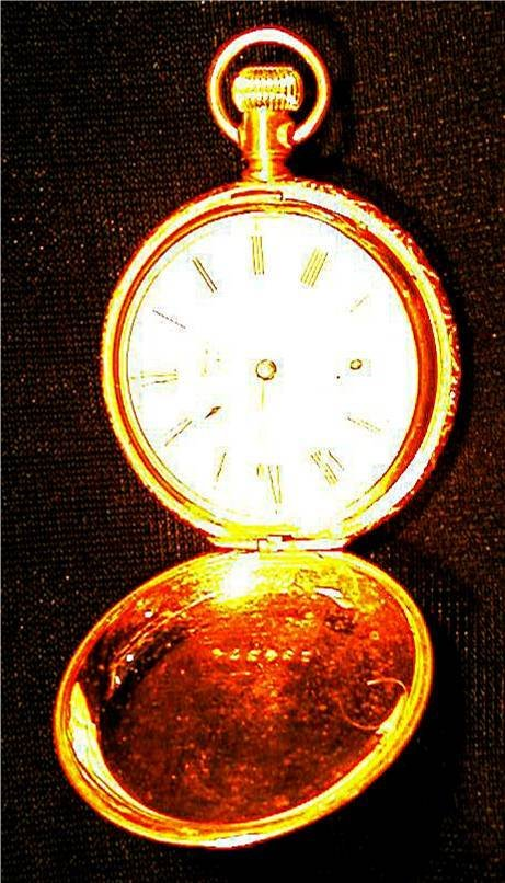 5006: American Waltham Co. Hunter's Pocket Watch, Works