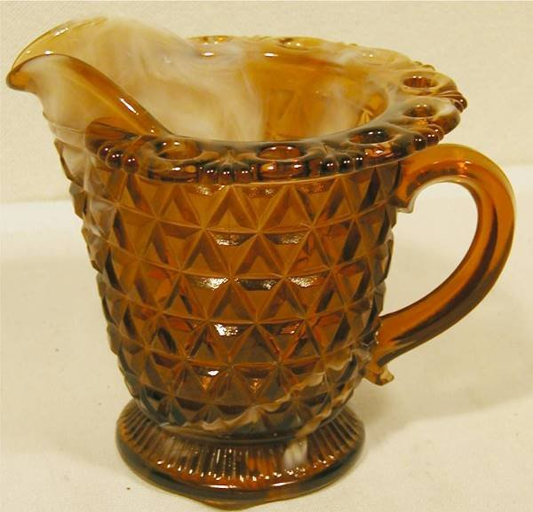 "5013: Chocolate Slag Creamer by Imperial, 4""H x 3 1/2"""
