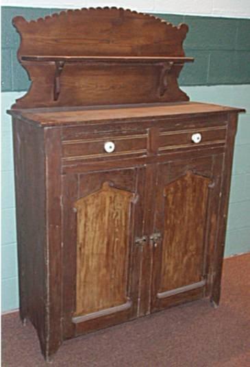 1001: 1800's Two Door Jelly Cupboard