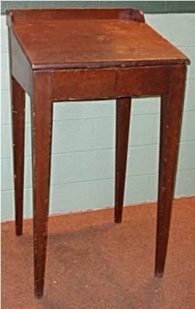 2024: Walnut Standup Clerks Desk