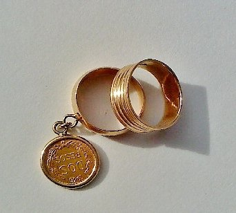 Coin Ring and Friendship Ring