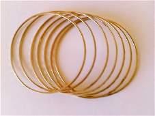 Seven Bangle Bracelets