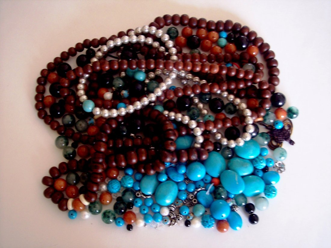 Large Group of Beads