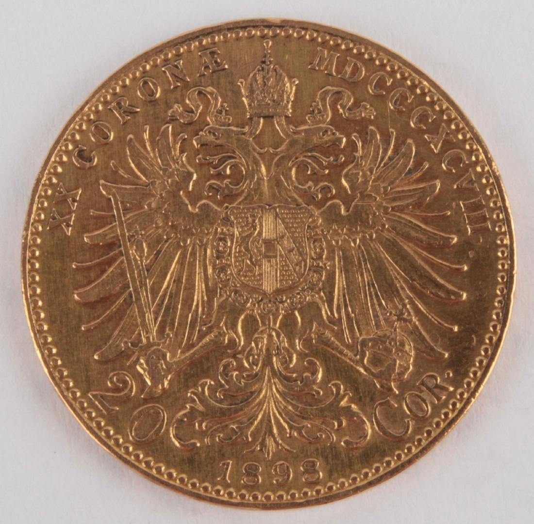Gold coin: 10 Crowns FJI 1898 - 3
