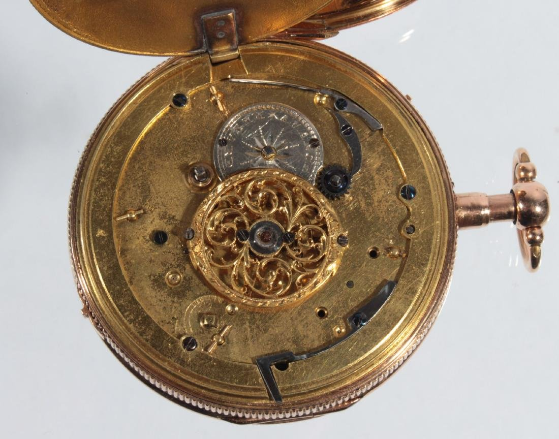 Empire watches with an automaton, erotic scene and - 9