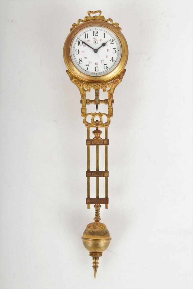 Art Nouveau Mystery Clock Junghans - 8