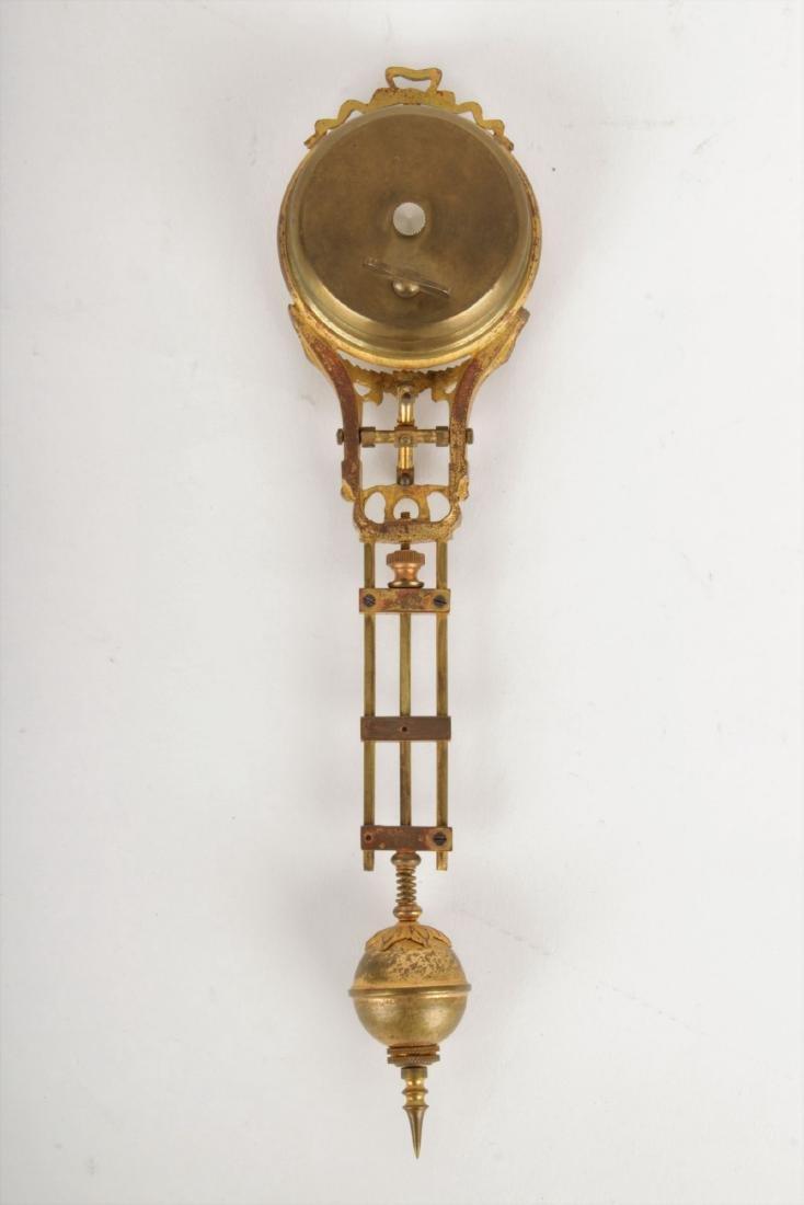 Art Nouveau Mystery Clock Junghans - 9