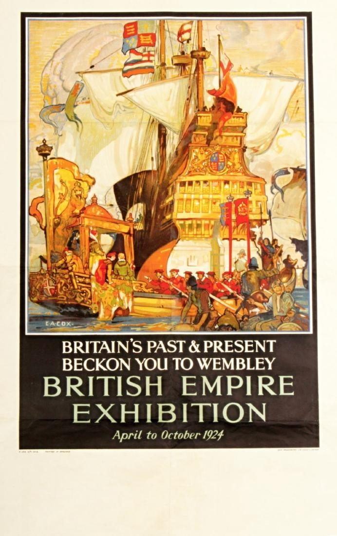 Poster British Empire Exhibition