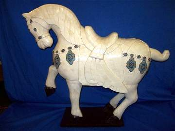 Huge Jade Horse