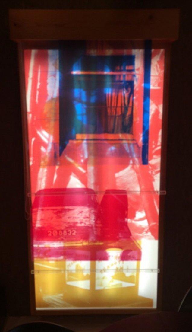 Robert Rauschenberg SLING-SHOTS LIT #4 7ft Edition