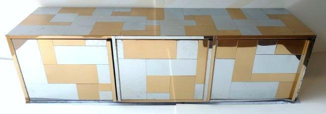 Paul Evans Directional Cityscape Custom 3 Door Cabinet