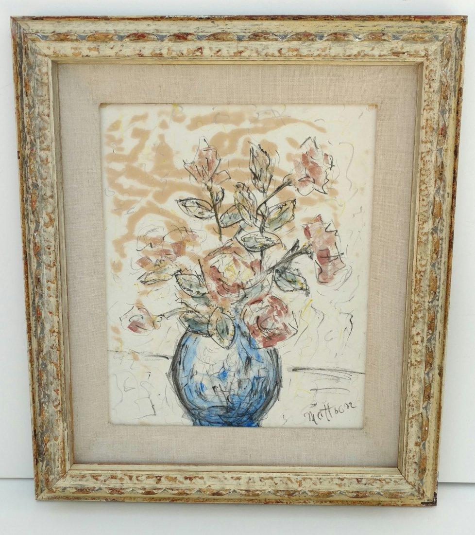 Henry Mattson NA Floral Still Life