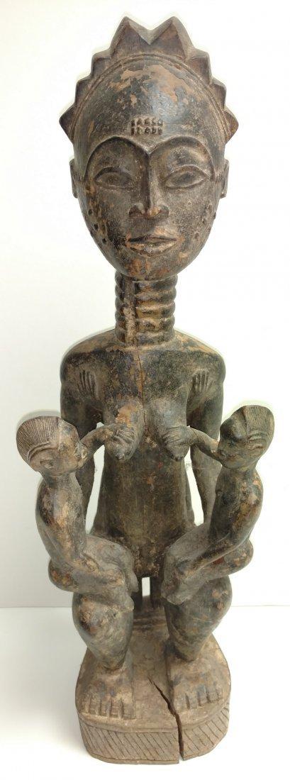 Maternity Scarification Nursing Statue