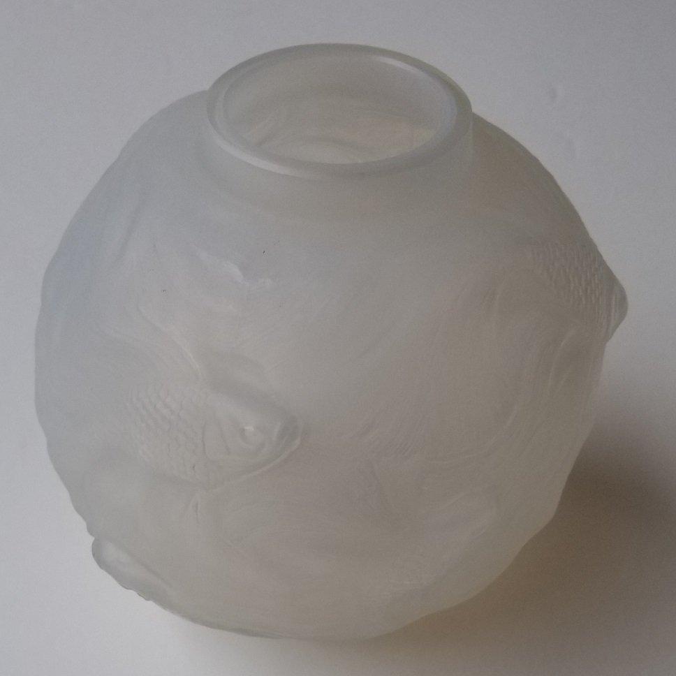 R Lalique Formose Art Deco Koi Bowl