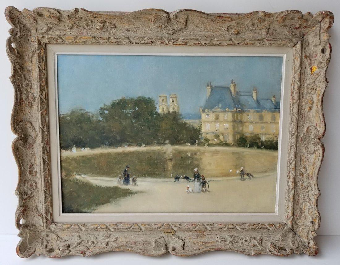 Frederick McDuff Tuileries Painting 1 of 4