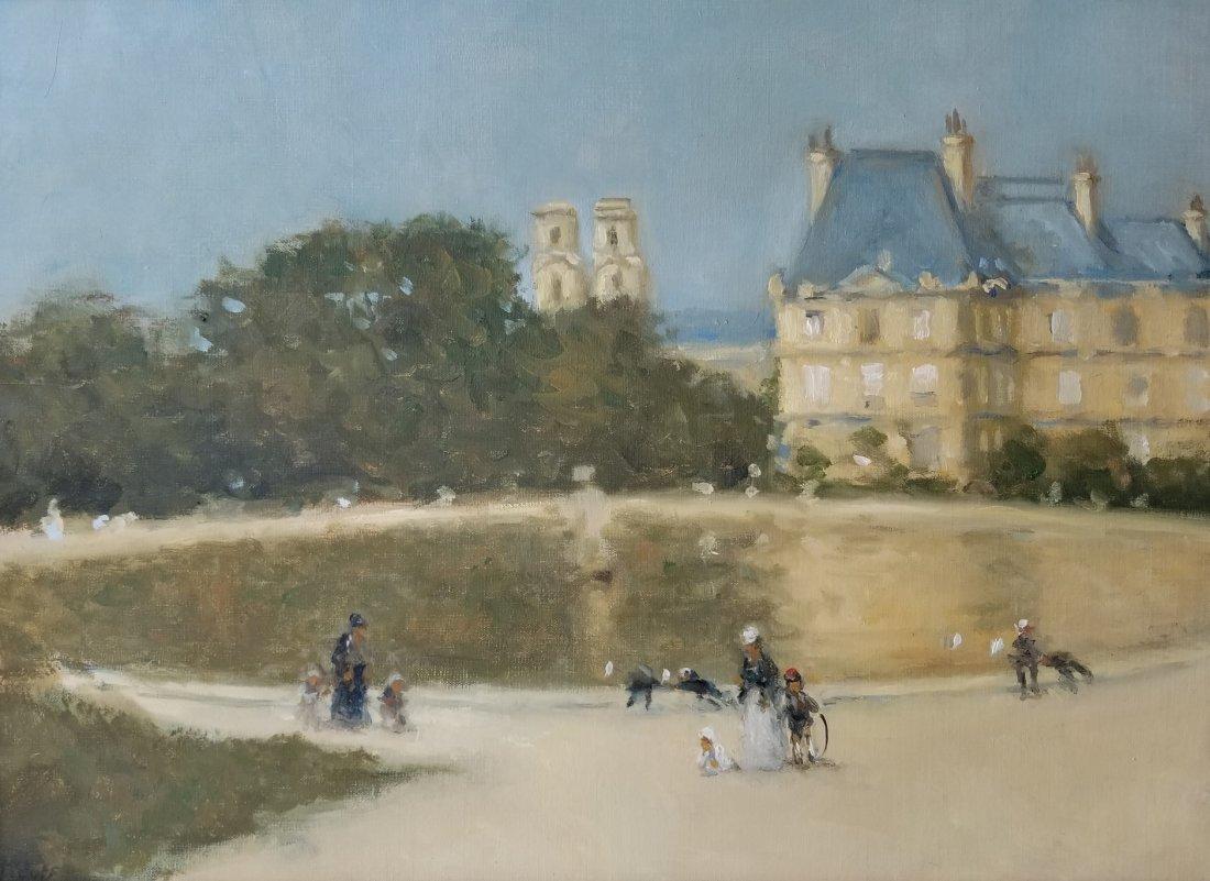 Frederick McDuff Tuileries Painting 1 of 4 - 2