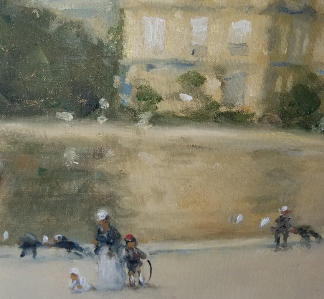 Frederick McDuff Tuileries Painting 1 of 4 - 3