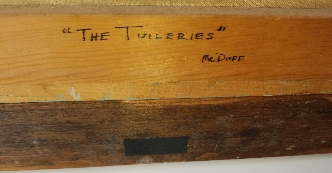 Frederick McDuff Tuileries Painting 1 of 4 - 5