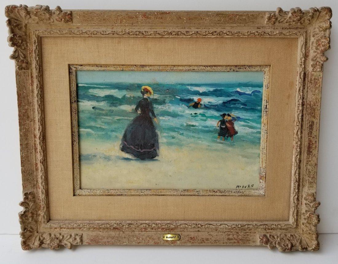 Frederick McDuff Beach Painting 2 of 4