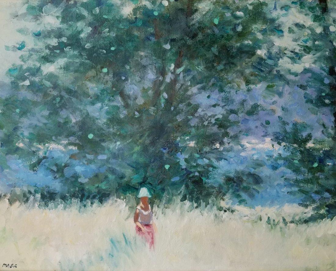 Frederick McDuff Sunlit Field Painting 3 of 4 - 2