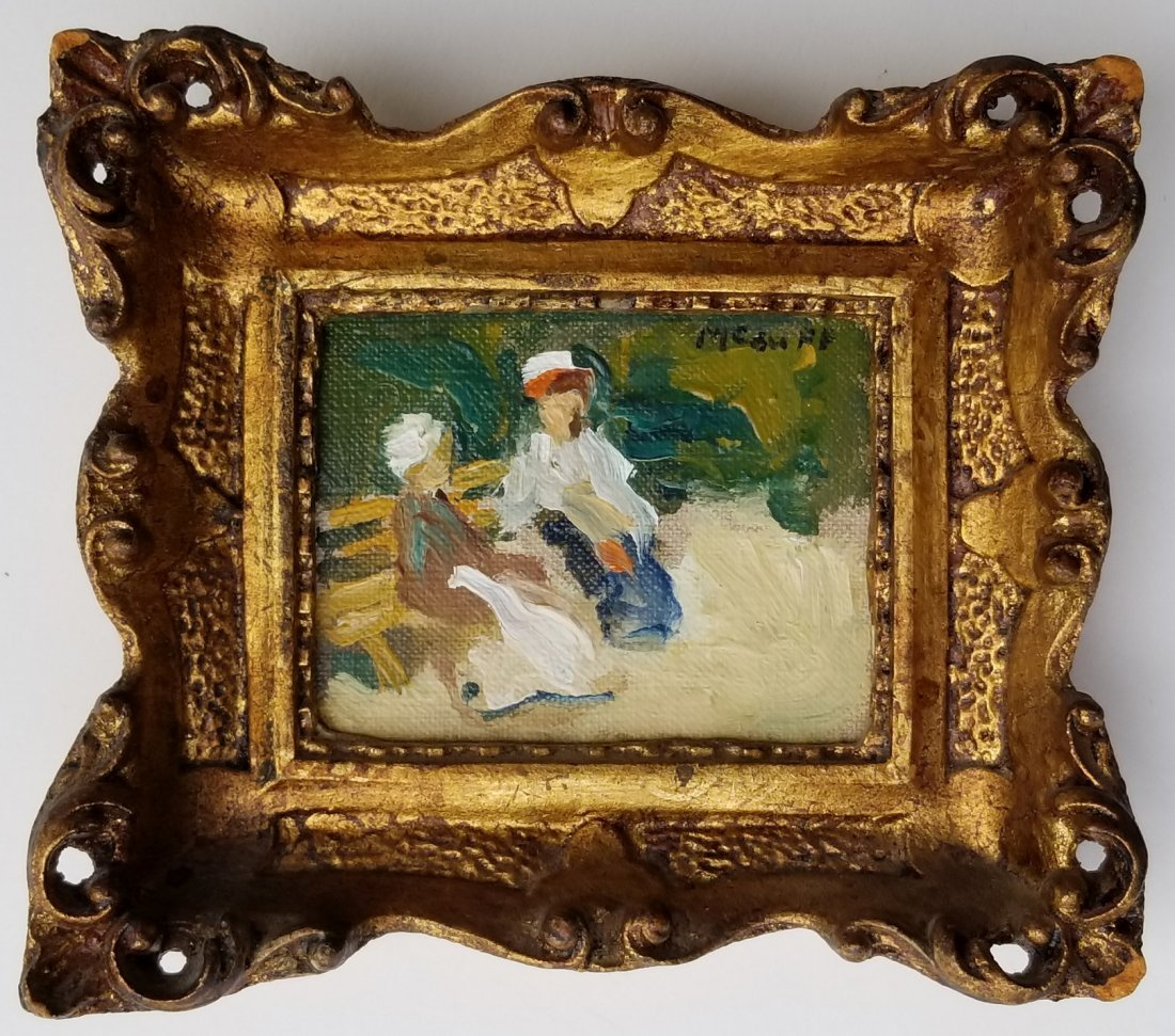 Frederick McDuff Painting 4 of 4 A Miniature