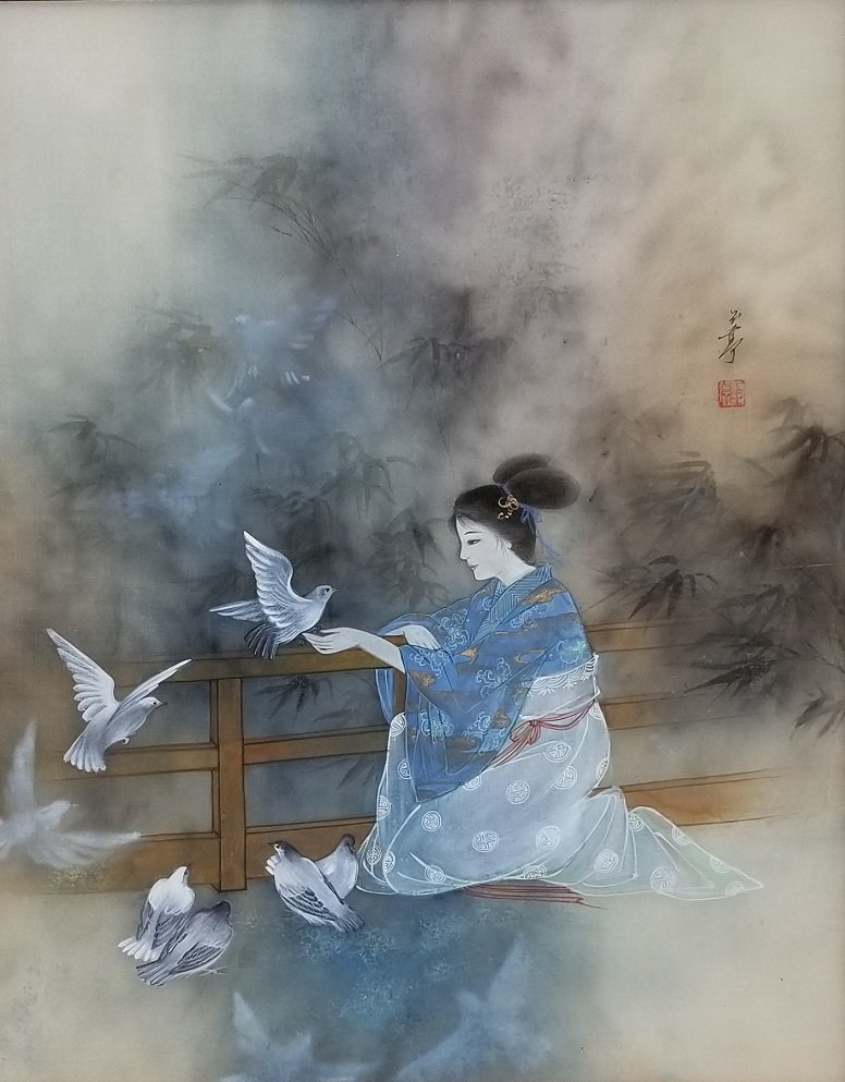 Lena Liu Chinese American Original Painting