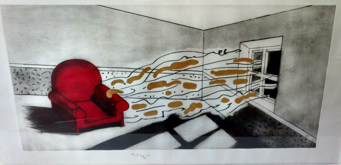 Large Ettore Sottsass Lithograph - 2
