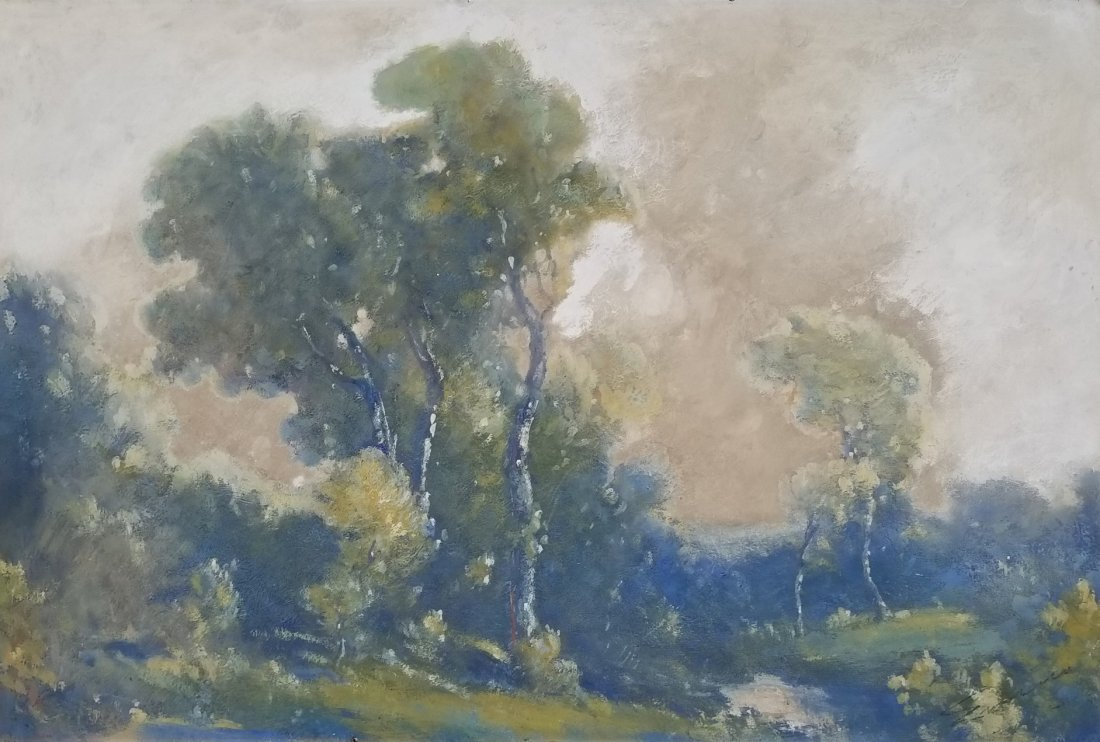 Louis Michel Eilshemius Windy Day 1912