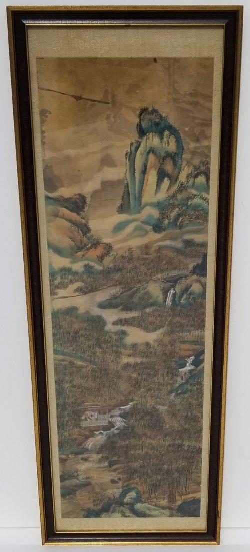 Chinese Japanese Korean Scroll Painting G