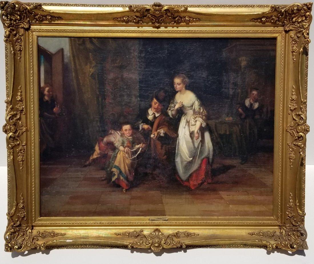 Casimir van den Daele Interior Painting