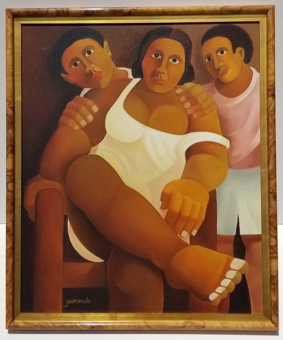 Jaimendes Brazilian Modernist Painting