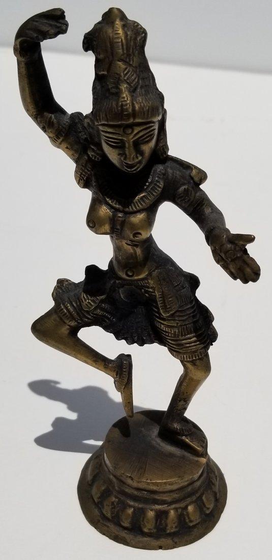 Indian Chinese or Thai Bronze Goddess E