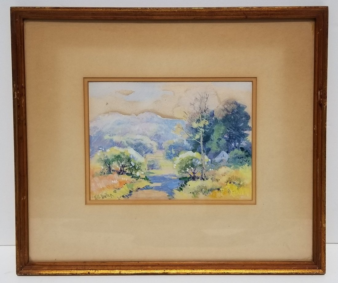 Will Vawter Indiana Painting E