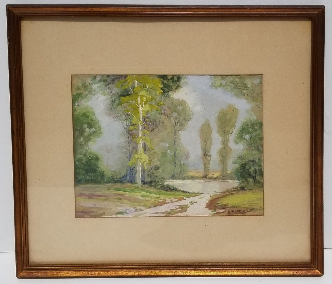 Letha Heckman Gaskins Indiana Painting F