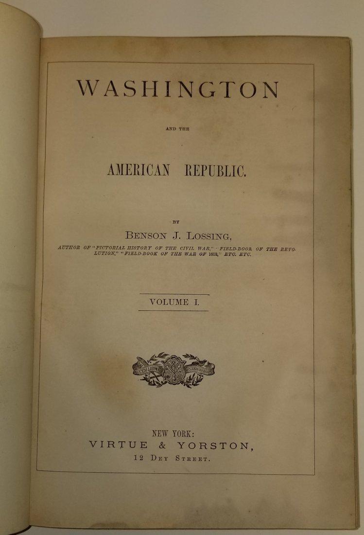 Washington American Republic by Lossing