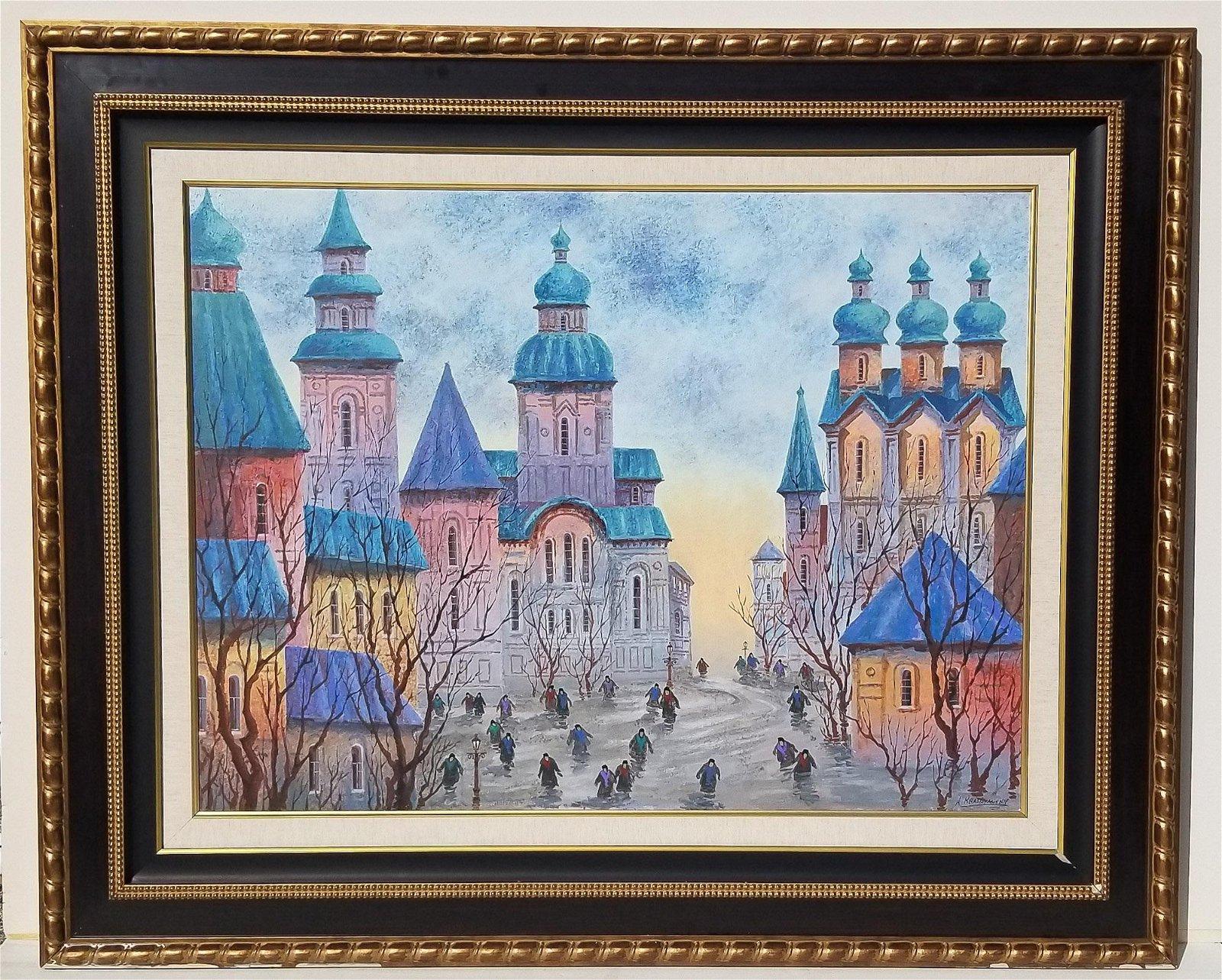 Anatole Krasnyansky Russian Ukrainian Painting