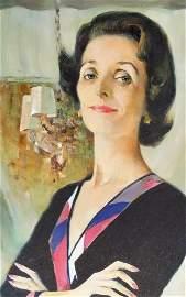 Large Marc Klionsky 1974 Portrait