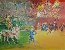 Jean Dufy Le Cirque Color Lithograph