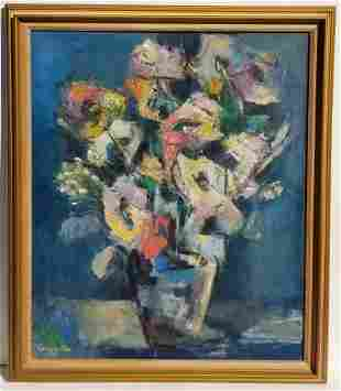 Cory Linton Or Liston Cubist Still Life
