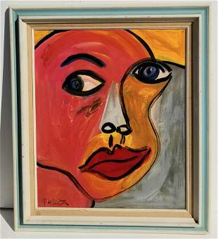 Peter Keil Abstract Expressionist Portrait
