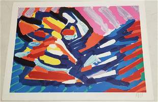 Karel Appel Expressionist Lithograph AP