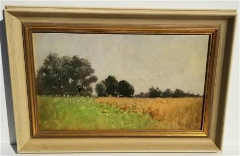 Gielt Meadow Landscape Oil