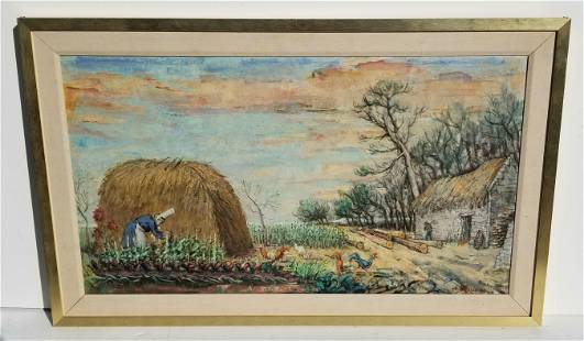 Philip Reisman Farm Composition