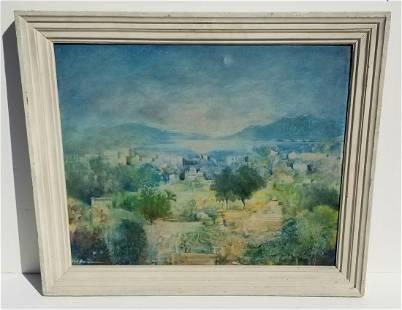 Ludwig Grossman Landscape Oil 1 of 2