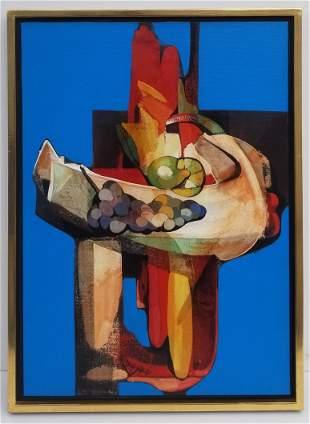 Alfio Rapasardi Semi Abstract Composition