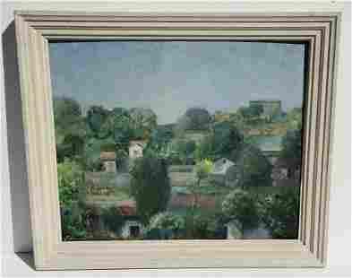 Ludwig Grossman Landscape Oil 2 of 2
